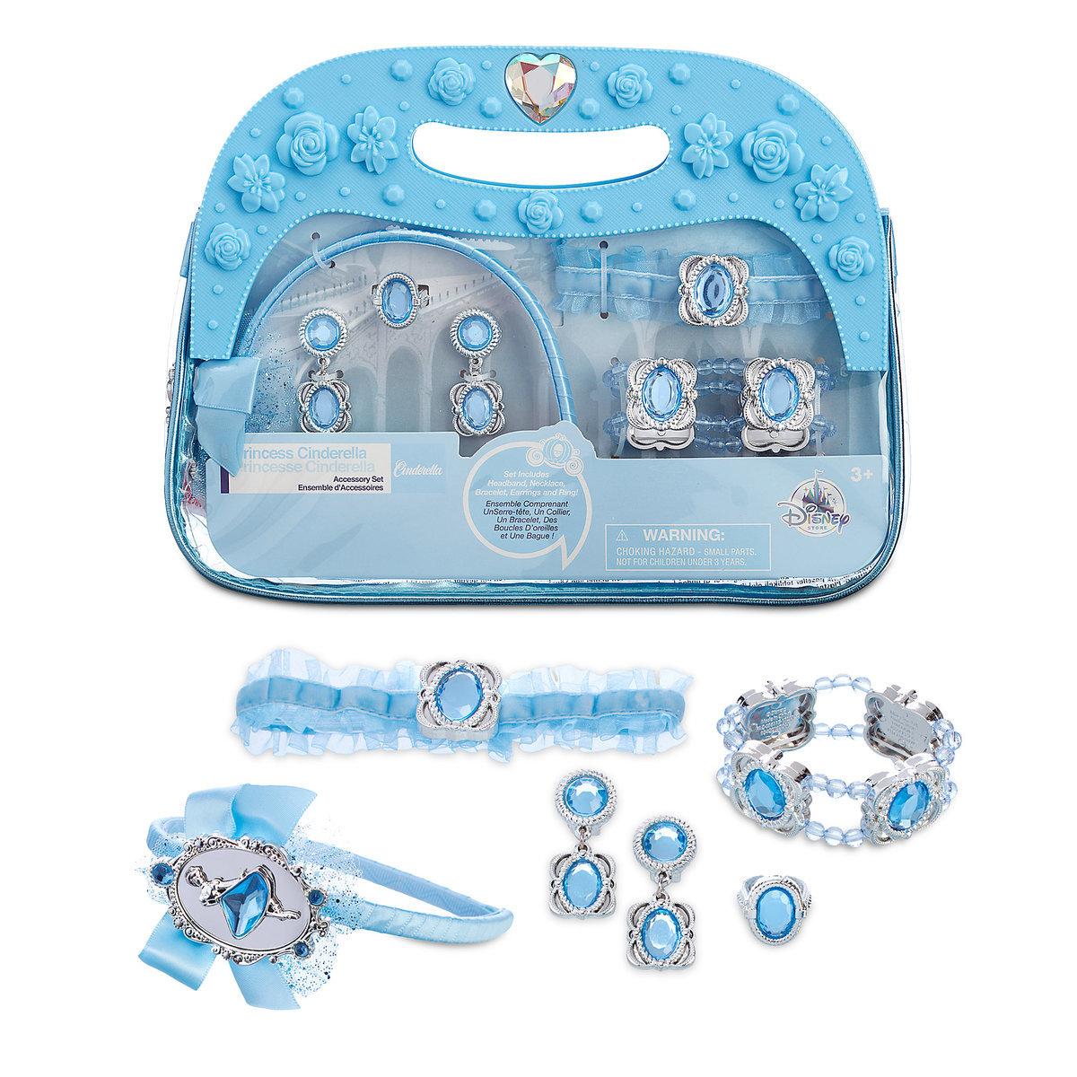 กระเป๋าเครื่องประดับสำหรับเจ้าหญิง Disney Costume Accessory Set (Cinderella)