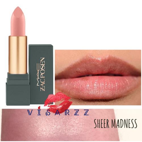 MAC Zac Posen Matte Lipstick 3g # Sheer Madness ลิปสติก Zac Posen Limited Edition