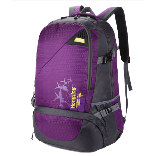 NL20 กระเป๋าเดินทาง สีม่วง ขนาดจุสัมภาระ 40 ลิตร