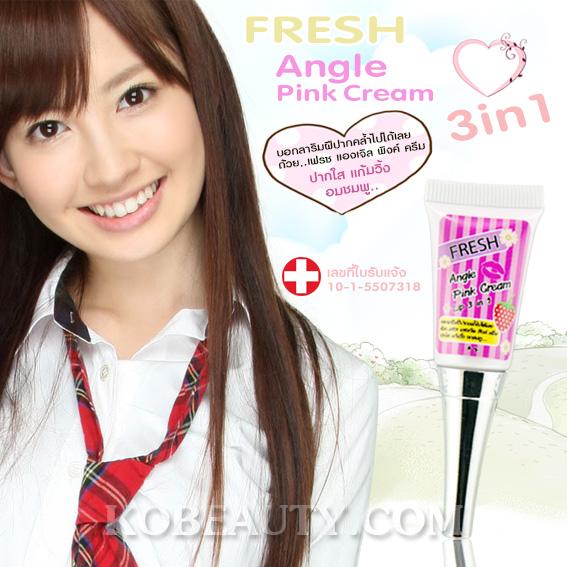 Fresh Angle Pink Cream Lip 3 in 1 / เฟรช แองเจิล พิงค์ ครีม