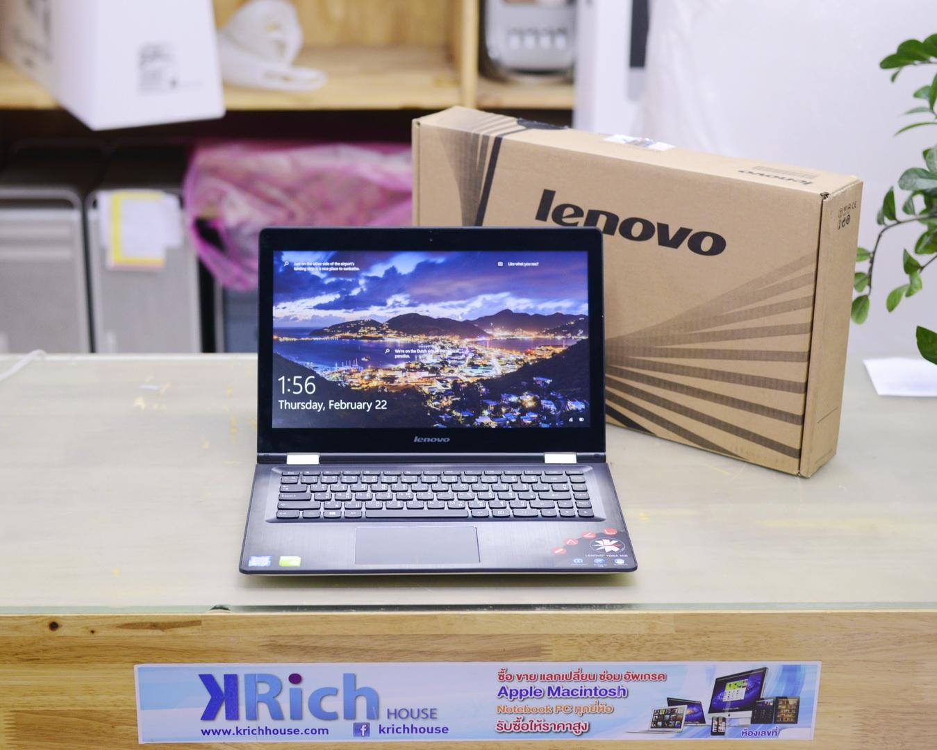 Lenovo IdeaPad Yoga 500-14ISK Core i5-6200U 2.3GHz RAM 4GB HDD 1TB NVIDIA GeForce GT 940M 2GB Display 14 inch Full HD/IPS Touch Screen - Windows 10 License