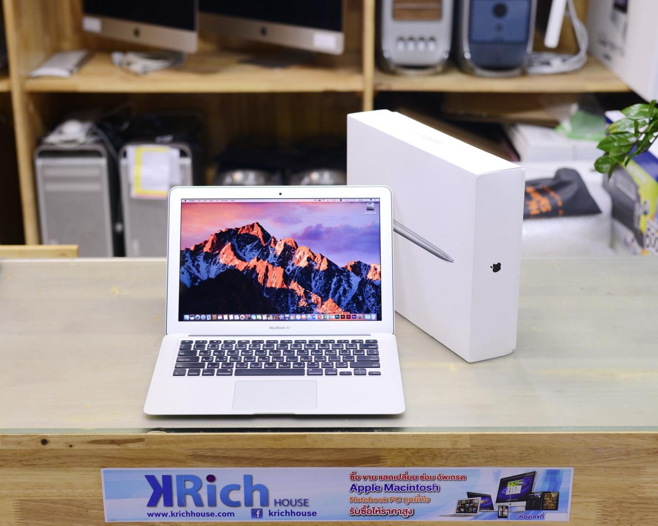 MacBook Air (13-inch, Early 2015) Core i5 1.6GHz RAM 8GB SSD 128GB Fullbox - Apple Warranty 13-11-2017