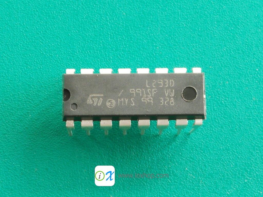 L293D Motor Driver IC 4.5-36V 600mA