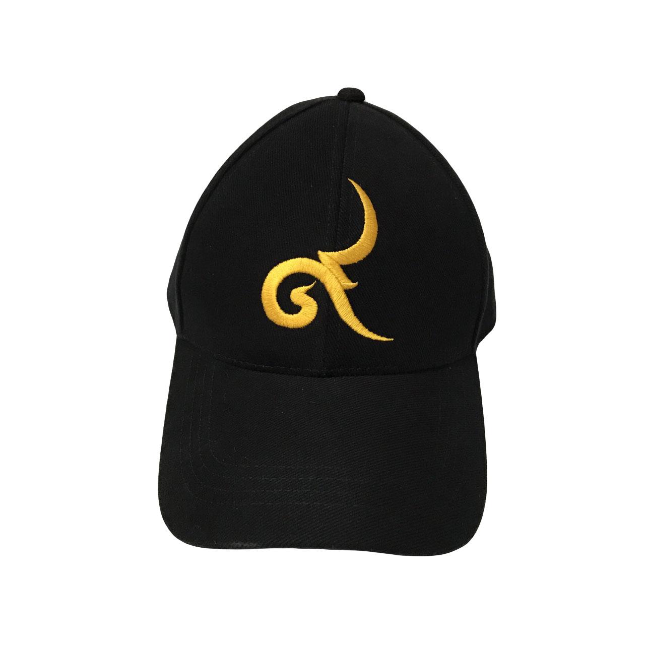 """หมวกแก๊ป ปักด้ายทอง หน้าปักเลข """"๙"""" หลังปัก """"ฉันเกิดในสมัยรัชกาลที่๙"""" by Season Tales"""
