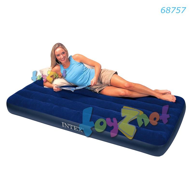 Intex ที่นอนเป่าลม 3.5 ฟุต (ทวิน) 99x191x22 ซม. รุ่น 68757