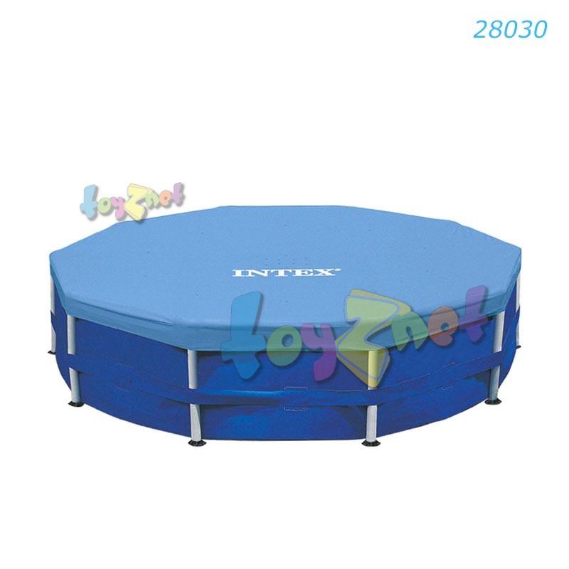 Intex Metal Frame Pool Cover 10ft (305cm) no.28030 - toyznet intex ...
