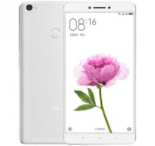 Xiaomi Mi Max หน้าจอ 6.4 นิ้ว แรม 4 รอม128GB (สีเงินขาว)เลิกจำหน่ายแล้ว