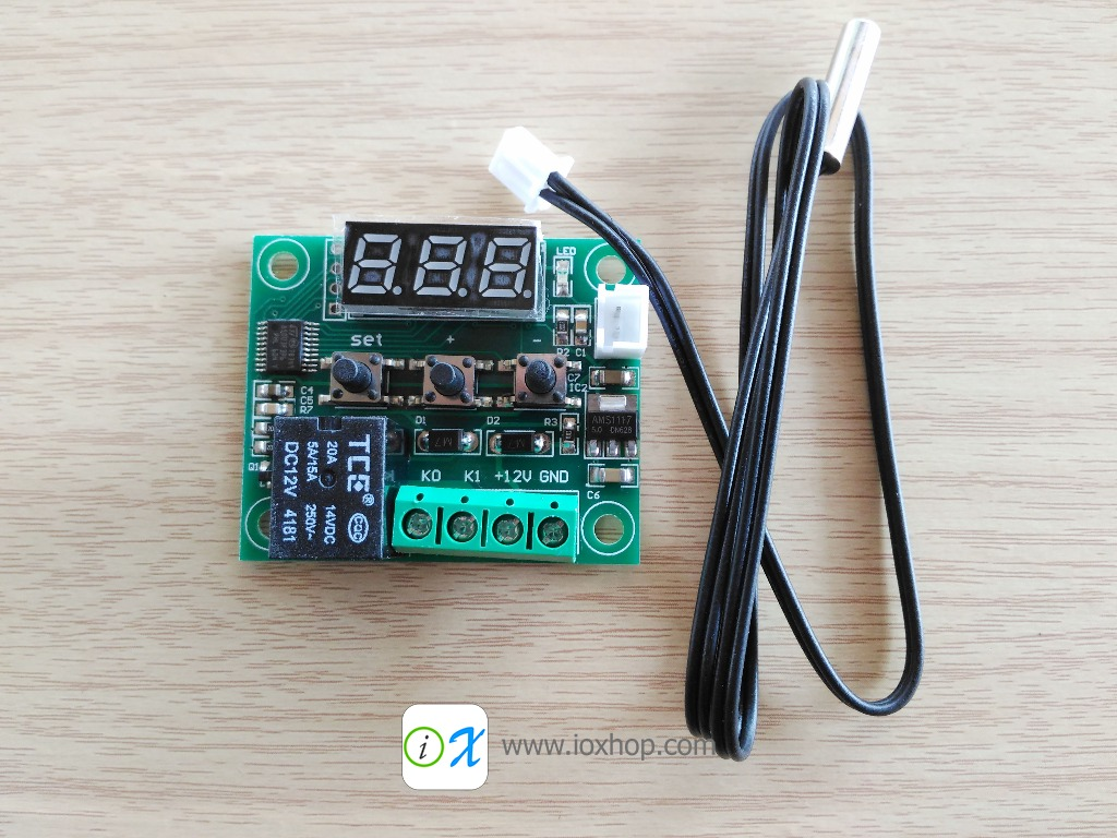 W1209 DC 12V Heat Cool Temperature Controller