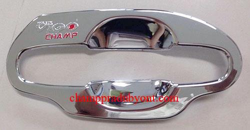 ถ้วยรองมือเปิดประตูโครเมี่ยม TOYOTA VIGO CHAMP 11-14 (V.2)