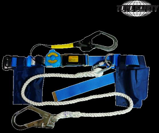 เข็มขัดนิรภัย Safety Belt TOYO RU-101 + Lanyard (Rope)