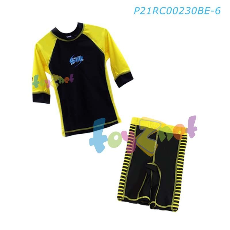 STL ชุดว่ายน้ำ เด็ก 6 ขวบ ลายผึ้งน้อย รุ่น P21RC00230BE-6