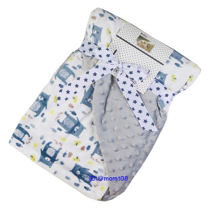 ผ้าห่มนาโนขนมิ้งลายการ์ตูน (ขนาด 76x102 cm.)