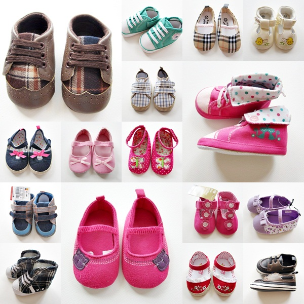 รองเท้าเด็ก (แพค 6 คู่)