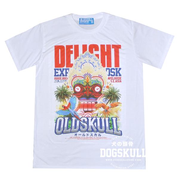 เสื้อยืด OLDSKULL : Express #XX | สีขาว