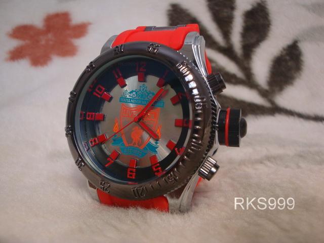 นาฬิกาข้อมือลิเวอร์พูล สีแดง (ชาย)