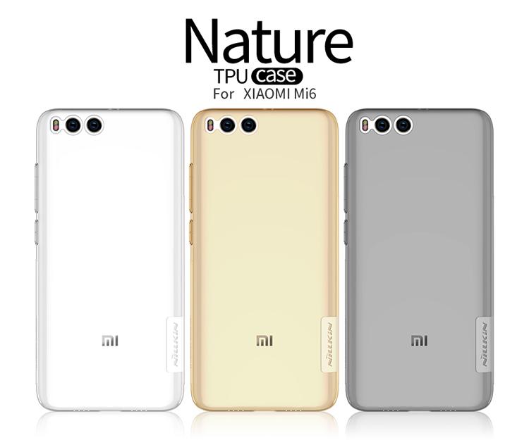 เคสใส NILLKIN TPU Case เกรด Premium Xiaomi Mi 6