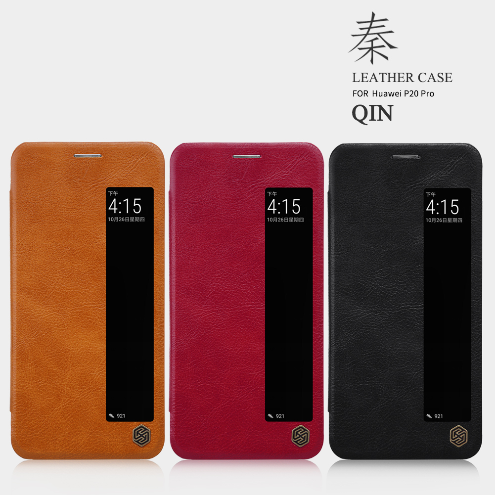 เคสฝาพับ NILLKIN Qin Leather Case Huawei P20 Pro