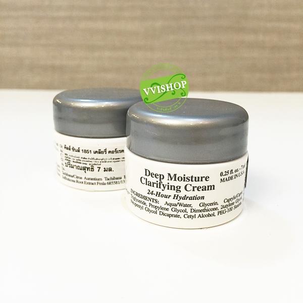 Kiehl's Clearly Corrective Deep Moisture Clarifying Cream 7 ml. ครีมมอยส์เจอไรเซอร์ วิตซีสูง เพื่อสีผิวที่สม่ำเสมอ ชุ่มชื่น 24 ชั่วโมง