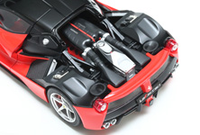 Modelers will enjoy the detail which the model provides in its depiction of the midship V12, suspension and more.