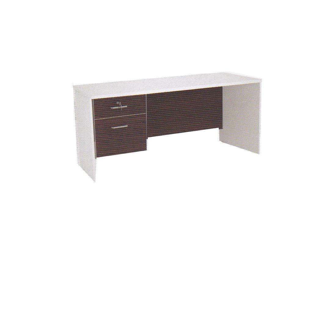 โต๊ะทำงาน 1.60 ม. พร้อมลิ้นชัก TDK-P1602
