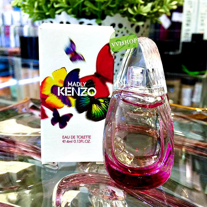 KENZO Madly EDT 4 ml. กลิ่นสไตล์หวานเบาๆ แบบดอกไม้ผสมผลไม้หน่อยๆ ล่ะก็ คุณต้องไม่พลาด
