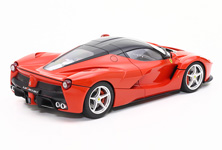 The body is said to be based upon Ferrari's 1960s racing sports cars - the model recreates the form accurately.