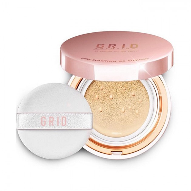 Grid Solution CC Cushion Limited Edition 15g.ตลับชมพู