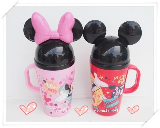 กระป๋องน้ำมีหูลาย Micky &Minnie ราคาส่ง 50 บาท