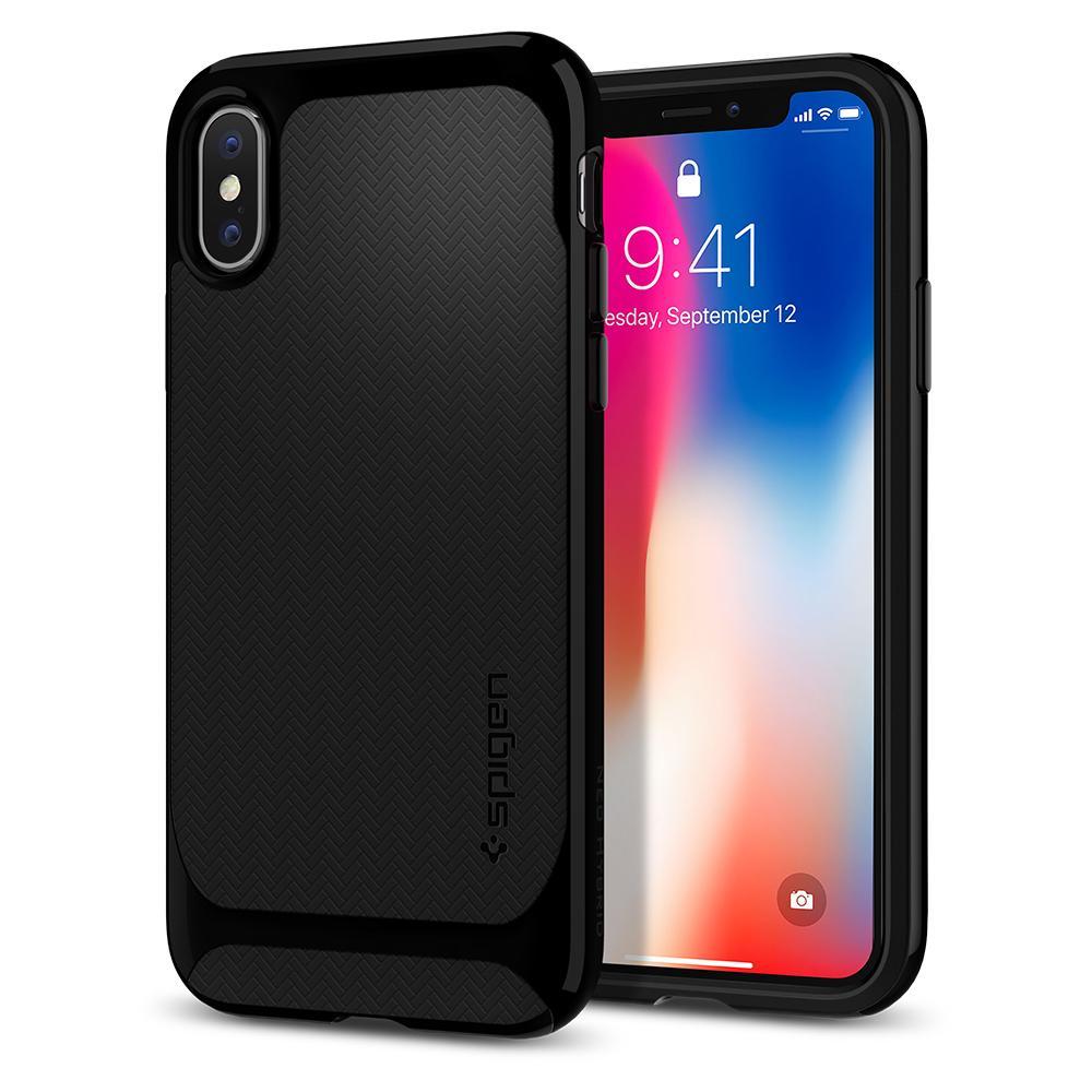 เคส SPIGEN Neo Hybrid (Herringbone) iPhone X