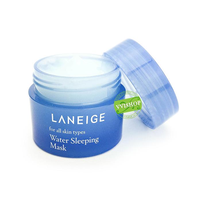 Laneige Water Sleeping Mask 15 ml. สูตรใหม่ เพิ่มประสิทธิภาพ มาส์กหน้า สุดฮิต ทาทิ้งไว้โดยไม่ต้องล้างออก