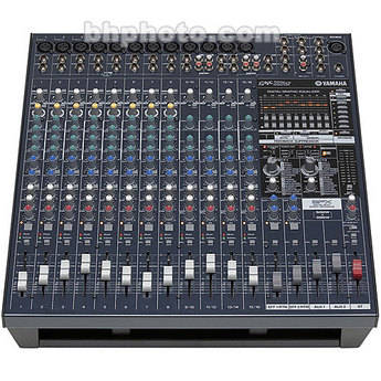 YAMAHA EMX5016CF - 16 POWERED SOUND REINFORCEMENT AUDIO MIXER WITH 500W + 500W STEREO AMPLIFIER