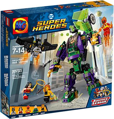 Super Heroes เลโก้จีน LEPIN 07092 ชุด Lex Luthor Mech Takedown