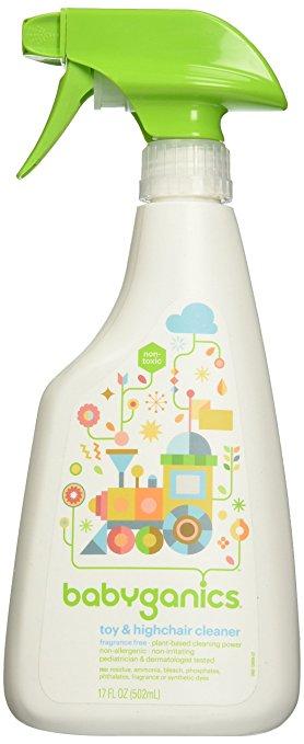 สเปย์ทำความสะอาดของเล่น BabyGanics The Cleaner Upper, Toy & Highchair Cleaner ++พร้อมส่ง++