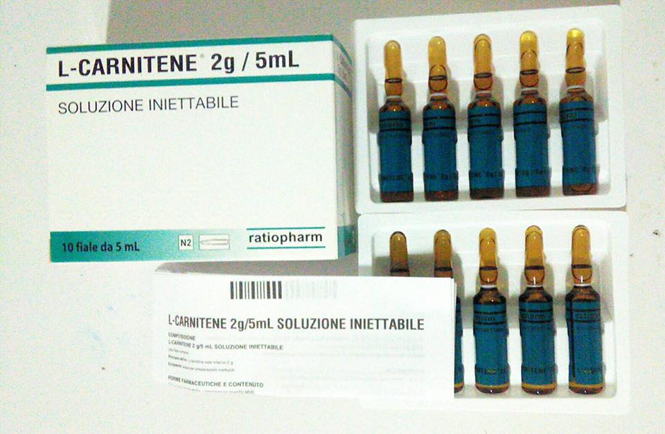 L-carnitene 2 g/ 5ml