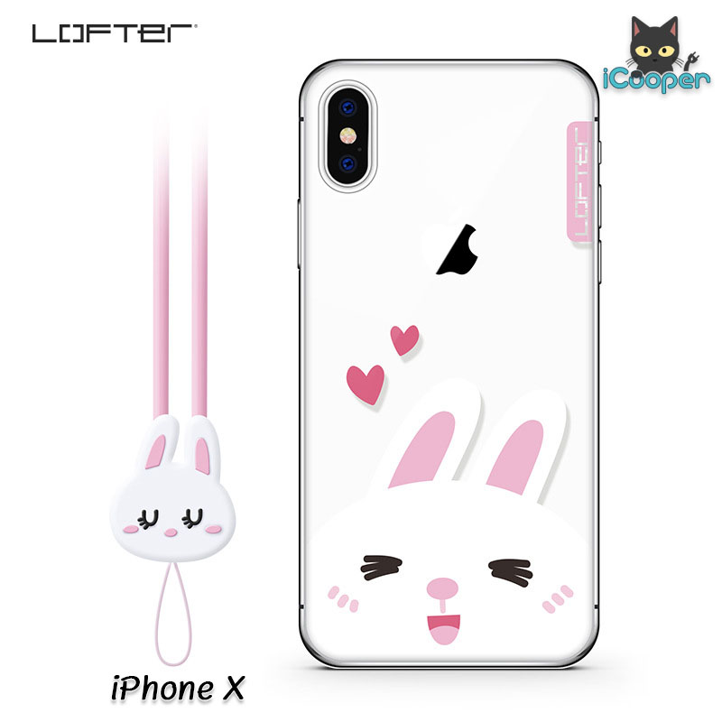 LOFTER Cartoon Cute - Rabbit (iPhoneX)