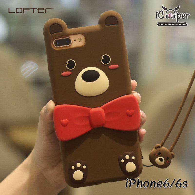 LOFTER Love Bear - Dark Brown (iPhone6/6s)
