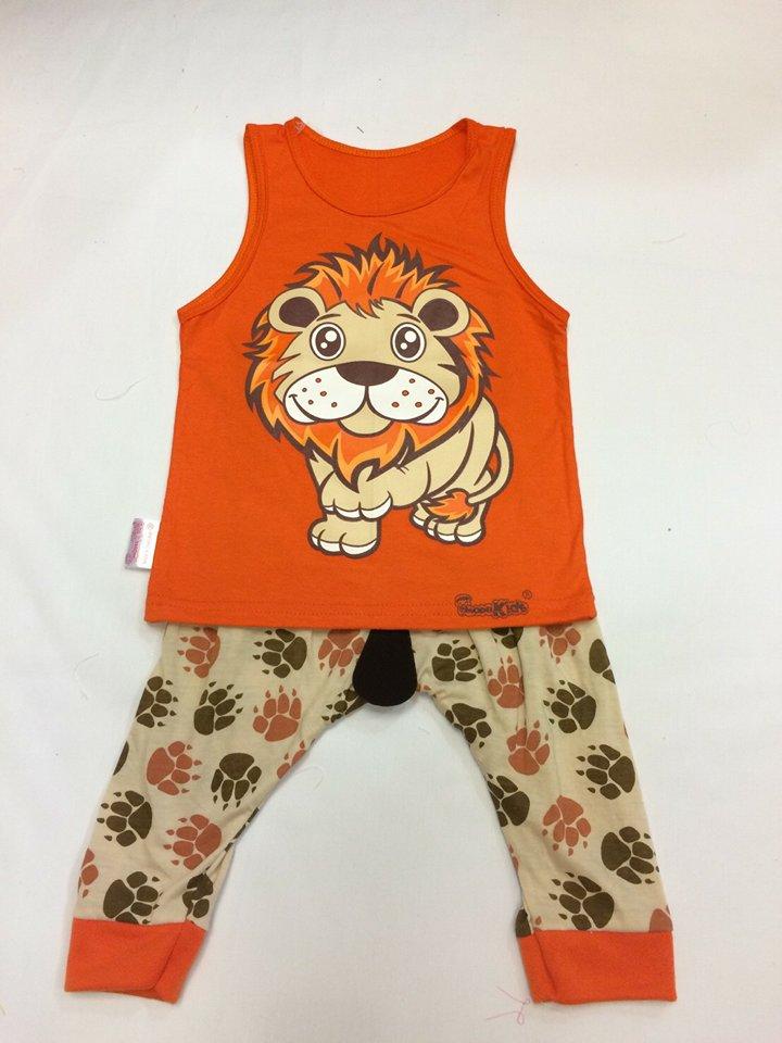 ชุดสิงโตส้ม