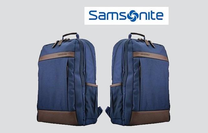 """กระเป๋าเป้ Samsonite Urban B6350s 14"""" – Blue (For Lenovo)"""