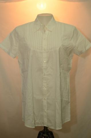 AIIZ เสื้อเชิ๊ตสีขาว(ออฟไวท์)