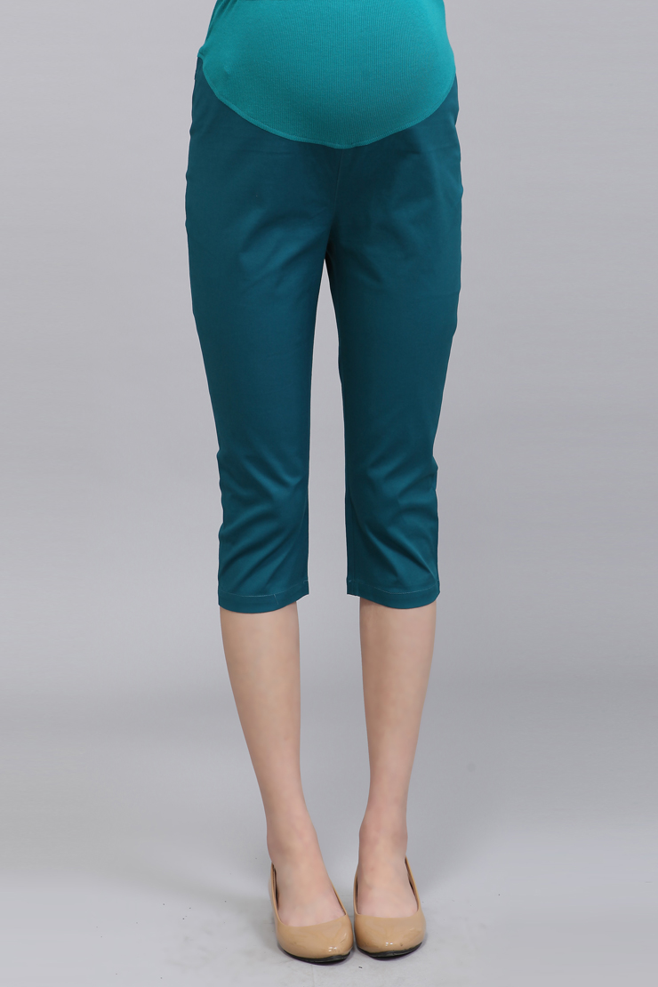 กางเกงคนท้อง ขา3 ส่วน ปรับขนาดเอวได้