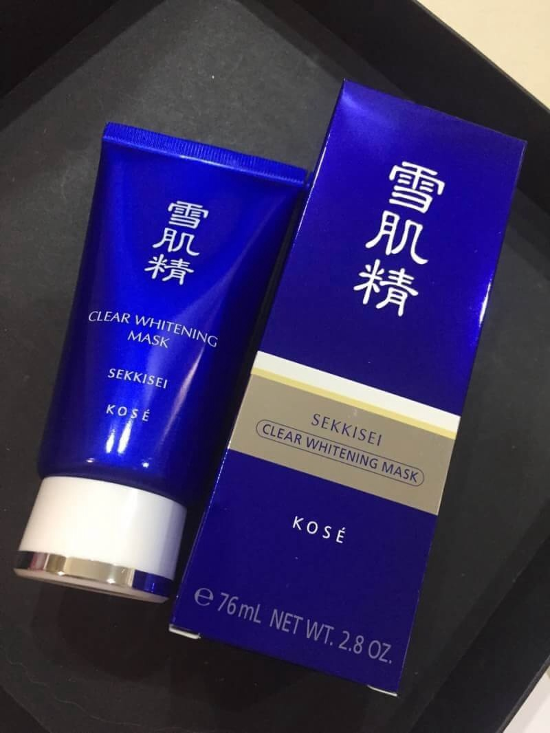 #Kose Seikisei Clear Whitening Mask ขนาดปกติ 76ml