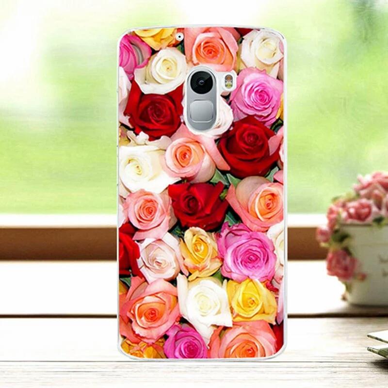 เคส lenovo k4 note ลายดอกกุหลาบหลากหลายสี พลาสติกเคส