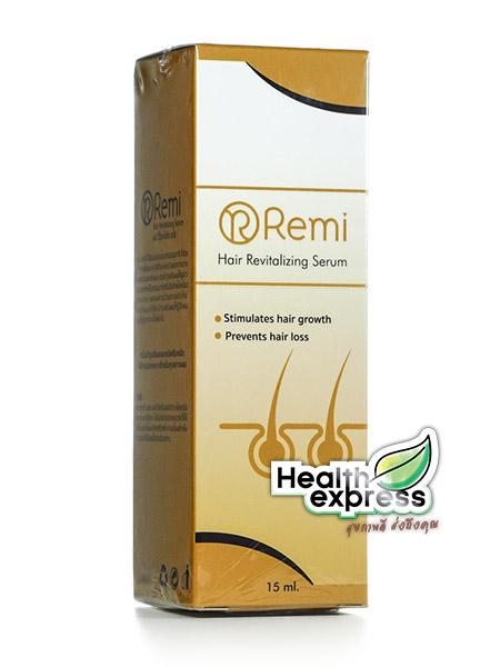 Remi Hair Revitalizing Serum เรมิ แฮร์ เรไวเทไลซิ่ง เซรั่ม ปริมาณสุทธิ 15 ml.