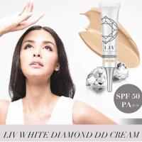 LIV White Diamond DD ครีม SPF50 01 Ivory