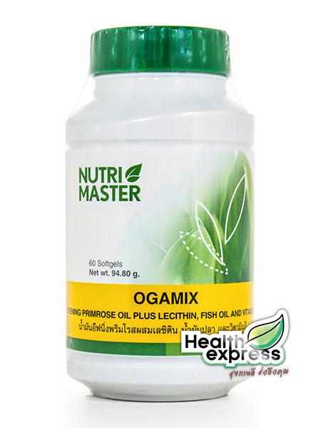 Nutri Master Ogamix นูทรีมาสเตอร์ โอกามิกซ์ บรรจุ 60 แคปซูล