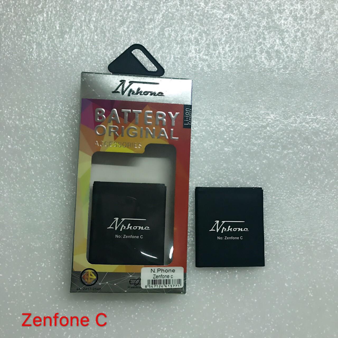 แบตเตอร์รี่ งานบริษัท ( มี มอก ไส้เต็ม ) Asus Zenfone C