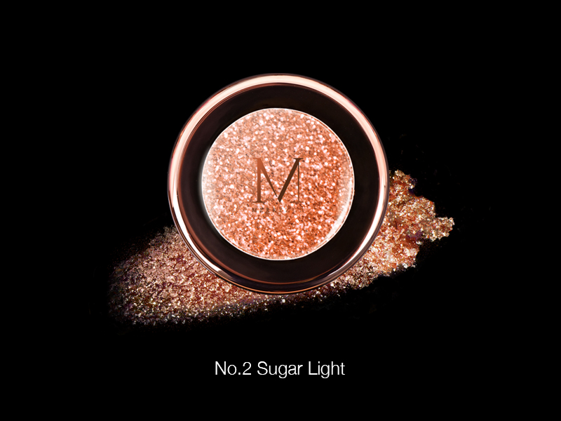 Merrez'ca Pearl Pigment Eyeshadow #02Sugarlight