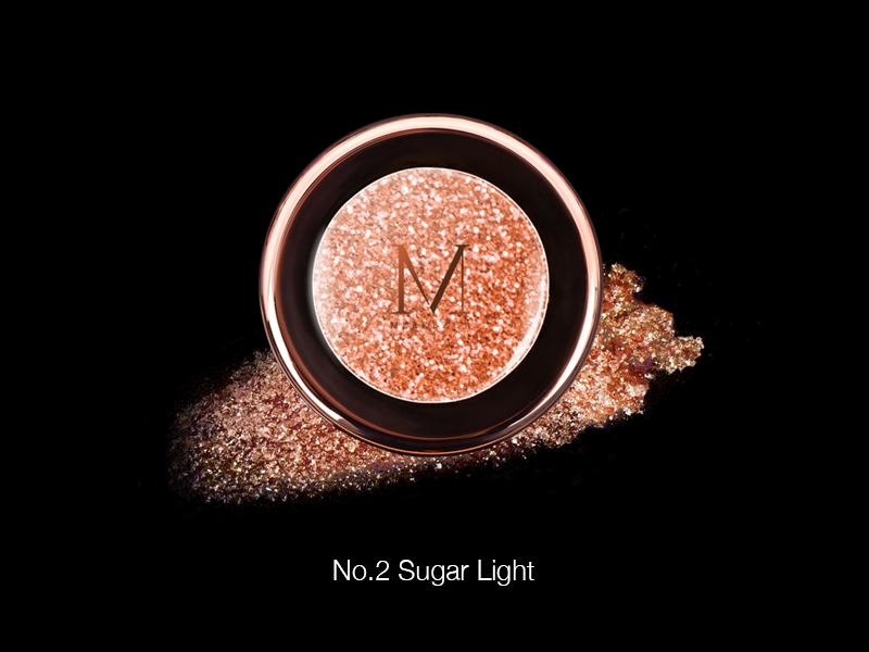 Merrez'ca Pearl Pigment Eyeshadow #02Sugarlight