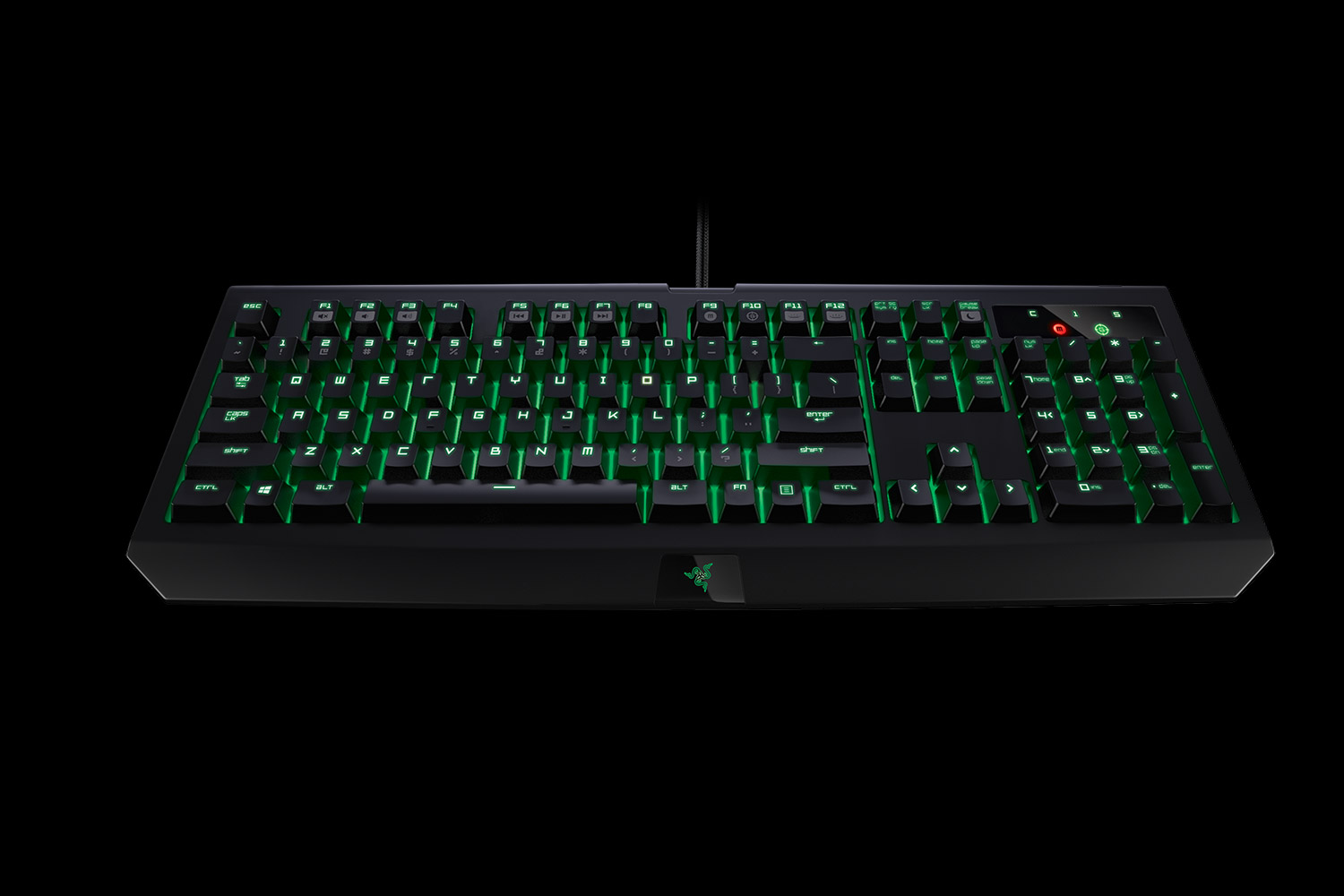 RAZER KEYBOARD BLACKWIDOW ULTIMATE 2016 STEALTH EDITION