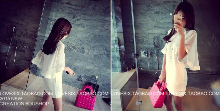 รับตัวแทนจำหน่ายชุดเดรสแฟชั่นเกาหลีสีขาวสวยๆ